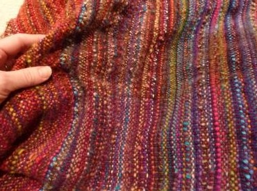 blanket swatch