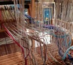 threading the loom