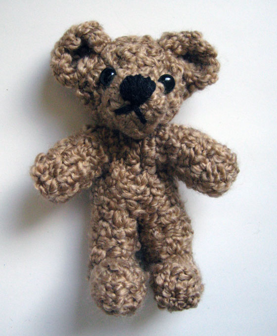 Finished bear