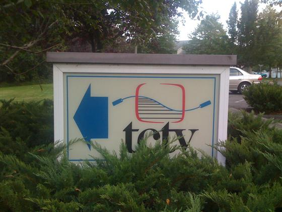 TCTV sign