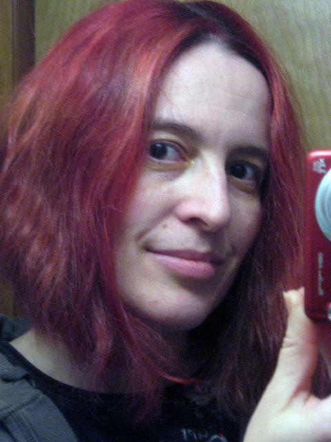 Fuschia Hair