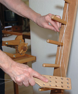 warping with the paddle
