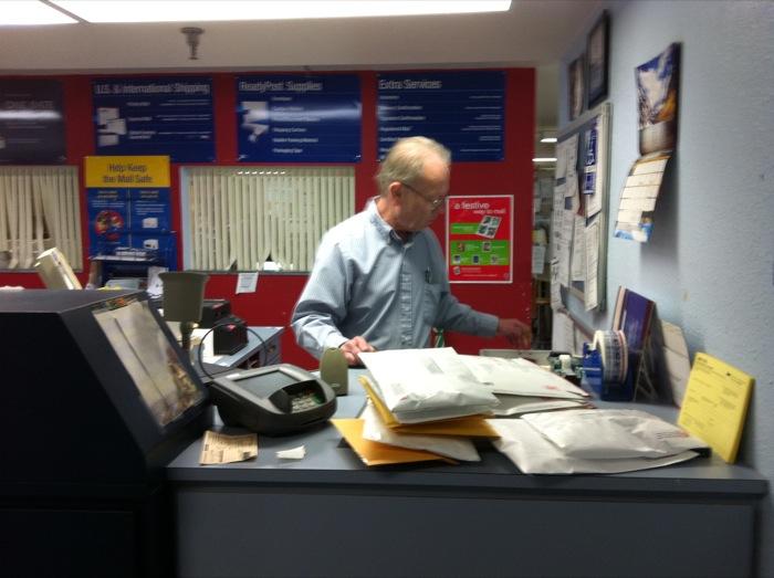 Postal guy
