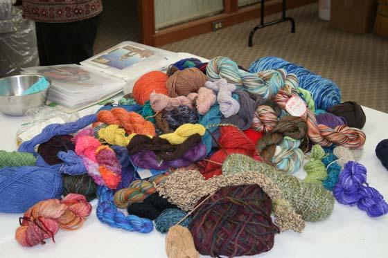 Big pile o yarn