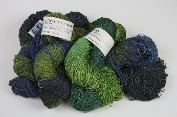 Blue Moon Boucle yarn