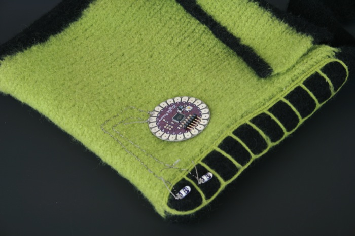 conductive stitching