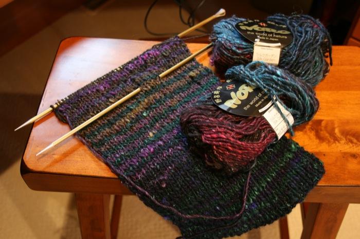 lever knitting